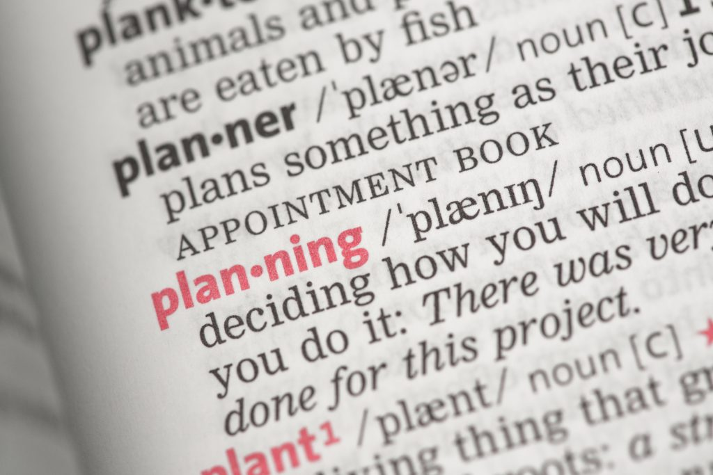 Project Planning - What is the best approach?